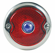 Ford Car And Sedan Delivery Deluxe Taillight Tail Lamp Blue Dot Rh 1933-1936