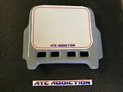 Atc Addiction Front Number Plate In Blue Gray. Honda 3 Wheeler 250r 350x 200x