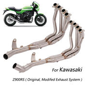 Exhaust System For Kawasaki Z900rs Motorcycle Header Exhaust Pipe 51mm Original