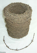 Barbed Wire Spool Vintage 2 Wire Fencing Rustic Barn Home Craft