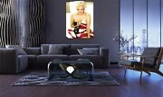Marilyn Monroe American Flag Special Edition Classic Poster Canvas Print Wall