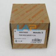 10pcs/box New For Weidmuller Relay Tos 5vdc/48vdc 01a 8950700000