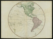Western Hemisphere. North And South Americas. New Albion. Owhyhee. Faden 1802 Map