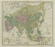 Bowlesand039s New One-sheet Map Of Asia Divided Into Its Empiresandhellip Carver C1795