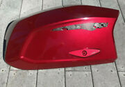 Can-am Spyder F3 Saddlebag Cover L/h Used Oe 2016 Intense Red P/n 708302635