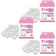 Dry Compressed Disposable Mini Towel Coin Style Tissuewet Wipes 1500pcskorea