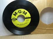 Old 45 Rpm Record - Mgm K 12412 - Marvin Rainwater - Gonna Find Me A Bluebird