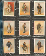 1939 Cope's Dickens Character Series Cigarette Cards Complete 25 Card Set