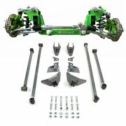 Mustang Ii 2 Ifs Front Rear Suspension 1-3 In. Lowering Kit 47-54 Chevy Truck V8