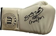 Kell Brook Hand Signed White Boxing Glove - Boxing Autograph.