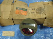 Nos Gm Chevy Gmc Truck Wwii Army Truck Tail Lamp Blinker 927225 6v Oem Rat Rod