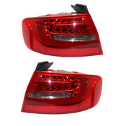 13-16 A4/a4 Quattro/s4 Outer Taillight Taillamp Led Brake Light Lamp Set Pair