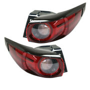 17-19 Cx-5 Cx5 2.0l And 2.5l Outer Taillight Taillamp Tail Light W/bulb Set Pair