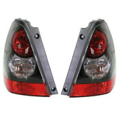 2008 Forester Sports 2.5 X/2.5 Xt Taillight Taillamp Rear Tail Light Set Pair