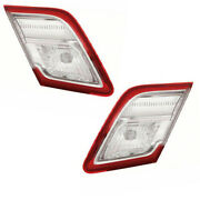 For 10-11 Camry Hybrid Usa Built Taillight Taillamp Rear Tail Light Set Pair