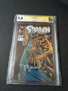 Spawn 7 Cgc 9.8 Nm/mt White Pages Ss Signed Todd Mcfarlane 2562080008
