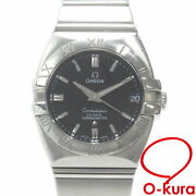 Omega Constellation Double Eagle Ss 1503.51 Automatic-winding Menand039s Watch Black