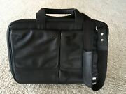 Dunhill Men's Black Leather Business Briefcase
