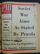Rommel 8th Army Soviet War Aims By Pravda Wwii February 12 1943 Pm Newspaper