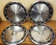 1971 - 1973 Ford Mustang 14 Wheel Covers Hubcaps 1972 - 701 - Set Of 4
