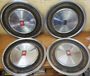 1977 - 1979 Oldsmobile Ninety Eight 15 Wheel Covers Hubcaps 4051 Set Of 4 Nos