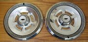 1970 Chevy Camaro Wheel Covers Hubcaps Nos - Set Of 2