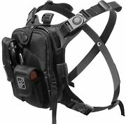Chest Pack Flashlight Tools Camera Gps Cycling Converts To Waist Pack Bandoleer