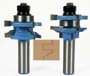 Rail And Stile 2pc Router Bits