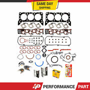 Engine Re-ring Kit For W/ 3mm Intake For 97-98 Ford Winstar 3.8 Ohv Vin 4