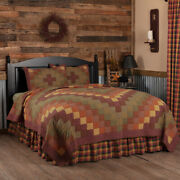 Heritage Farms Quilted Bedding Collection - Vhc Brands - Country Primitive Quilt