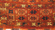 Amazing 19th Century Turkoman Bag Full Pile Original All Over You Must Seee