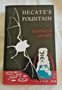 Hecate´s Fountain, Kenneth Grant, 1st Edition, Hardcover, Dust Jacket