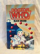 Doctor Who Black Orchid - Terence Dudley - 1st/1st 1986 Wh Allen Hardback