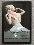 Matthew Barney Cremaster 1 Poster Signed Autographed Rare Mounted/framed