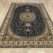 Yilong 6and039x9and039 Blue Hand Knotted Area Rug Home Oriental Classic Carpet Online 492c