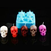Silicone Mold Candle Small Skulls For Diy Handmade Craft