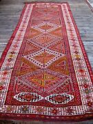 Antique Caucasian Karabagh Big Full Pile Rug 12and0396 X 4and03910 With Great Color