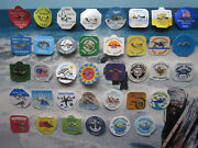 36 Year Collection  Harvey  Cedars,  New Jersey Beach Badges/tags