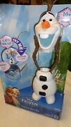 Disney 10 Olaf Frozen Talking Stretch And Slide Doll New In Box