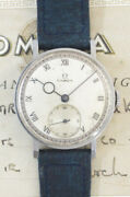 Omega Small Second Cal.30t2 Manual Winding Vintage Watch 1939and039s Overhauled