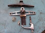 Oem Guide 1941 Cadillac Chrome Trunk Handle With Key And Base Maybe 42 As Well