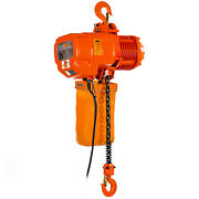Prowinch 2 Ton Electric Chain Hoist Double Speed 4000 Lbs Load Capacity 20ft Lif