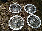 1971 1978 Dodge Chrysler Plymouth 15 Wire Spoke Hubcapswheel Cover Vintage Oem