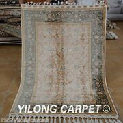 Yilong 3.5'x5' Classic Handmade Silk Rugs Home Carpets Hand Knotted Online 1759