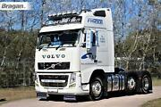 Low Bar + X11 Leds For Volvo Fh Series 2 3 Trucks Stainless Steel Front Bumper