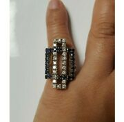18k Gold Sapphire And Diamond Classic Ring