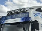 Roof Spot Light Bar + Leds For Volvo Fh Series 2 And 3 Globetrotter Xl Truck Front
