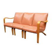 Mid Century 3 Sectional Sofa Couch In Original Condition.