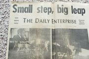 July 21, 1969 Man On The Moon Newspaper