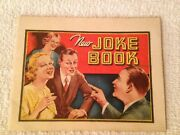 Antique 1930s Dr Miles New Joke Booklet Advertisments Of Nervine And Alka Seltzer